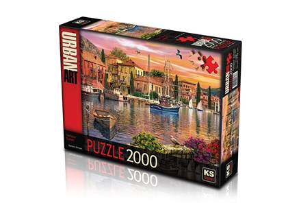 KS GAMES 2000 PARÇA PUZZLE HARBOUR SUNSET 11308